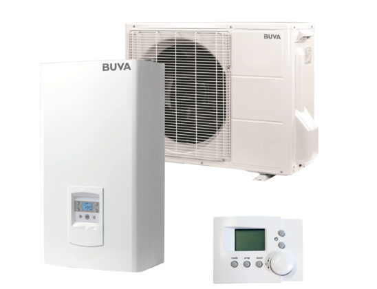 Hybride warmtepomp van Buva