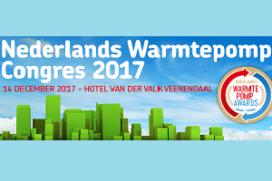 14 december: Nederlands Warmtepomp Congres 2017