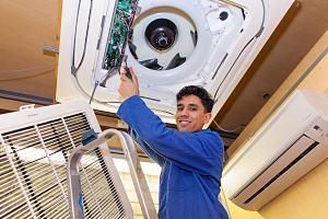 Nieuwe airco's voor opleidingen koudetechniek