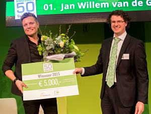 Van de Groep wint Duurzame 50 Vastgoed NL