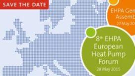Achtste EHPA Europese Warmtepompforum