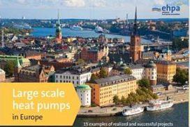 EHPA stelt brochure samen over 'grote warmtepomptoepassingen'