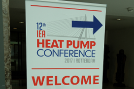 Verslag: 12e IEA Heat Pump Conference 2017 in Rotterdam (deel 1)