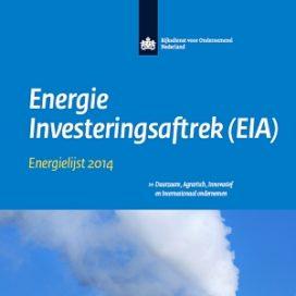 Eenvoudig zoeken in de Energielijst en Milieulijst 2014