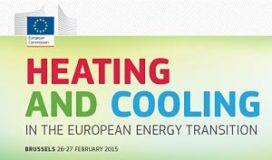 Verwarming en koeling centraal bij conferentie in Brussel