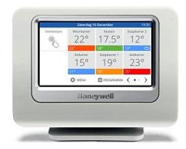 Honeywell introduceert evohome Wi-Fi