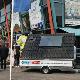 Mobiele opstelling van Hydrotop voor 'feesten en partijen'