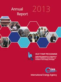 Jaarverslag 2013 <i>IEA Heat Pump Programme</i> gepubliceerd