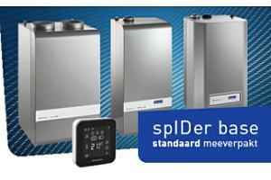 Itho Daalderop voorziet producten standaard met thermostaat spIDer