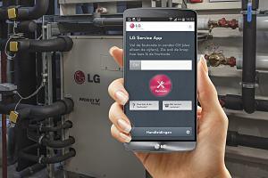 LG Klimaat update service app