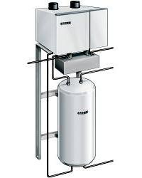 Systeemoplossing met 100 liter buffervat