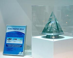 NVKL-koeltrofee voor IBK Koudetechniek