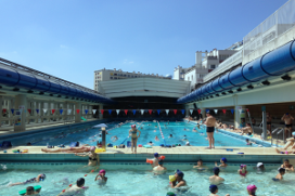Experimenten met innovatieve zwembadverwarming in Parijs