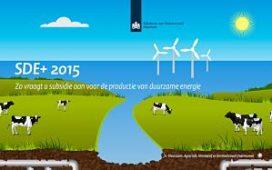 Ook subsidie voor Duurzame Energieproductie (SDE+)?