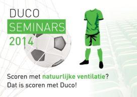 Duco houdt seminars in voetbalstadions