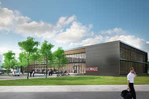 Bouw Stiebel Eltron-Trainings- und Communicatiecentrum begonnen