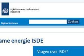 ISDE-regeling met name in trek voor warmtepompen