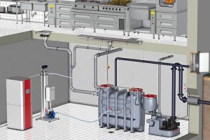 Warmtewisselaar voor warmteterugwinning uit afvalwater