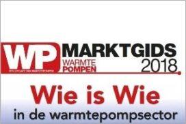 Digitale versie Marktgids Warmtepompen 2018 gratis verkrijgbaar