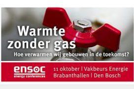 Congres 'Warmte zonder gas' tijdens Vakbeurs Energie