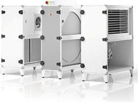 WOLF HR-WTW unit CRL met warmtewiel