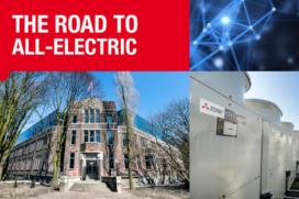 Roadtrip door moderne stad tijdens Warmtepompen Innovatieroute in Den Bosch