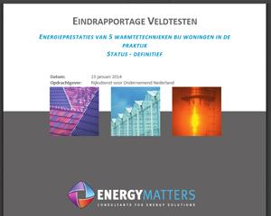 Unieke veldtest toont potentieel energiewinst warmtesystemen