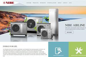 NIBE lanceert vernieuwde site