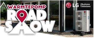LG en Centercon organiseren 'Warmtepomp Roadshow'