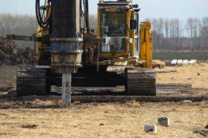 Energiepalen 'stutten' duurzame bouw