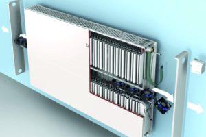 Nieuwe radiator voor lage temperaturen