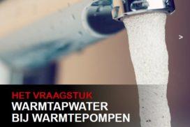 Warm tapwater bij warmtepompen