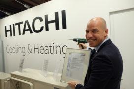 Hoge SCOP nieuwe warmtepomp Hitachi door Kiwa bevestigd