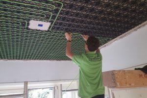 Lage temperatuur verwarming in vloer, wand & plafond