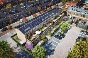 Duurzame transformatie schoolgebouw naar 'Plus-op-de-meter'-woningen