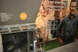 Vakbeurs ISH: 'alternatieve' koudemiddelen voor warmtepompen
