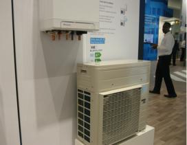 Nieuwe warmtepompen en R32 op vakbeurs ISH