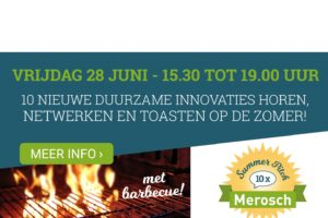 Merosch Summer Pitch biedt podium aan tien innovaties