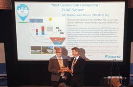 Nederlands buffersysteem wint 'Next Generation Heat Pump'-award