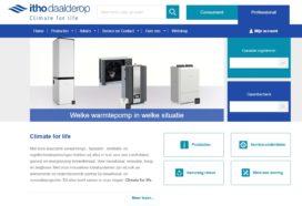 Nieuwe website Itho Daalderop live
