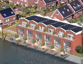 Alblasserdam start bouw van 33 gasloze woningen
