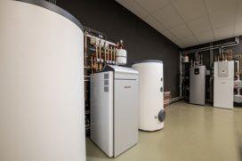 Installateur verwarmt en koelt eigen bedrijfspand met bodemwarmtepomp en LTV-radiatoren