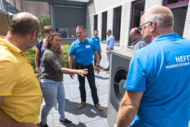 Warmtepompspecialisten laten zich bijpraten op 'Campus'-bijeenkomst