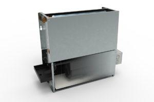 Ventilatorconvector van Jaga kan gelijktijdig verwarmen en koelen