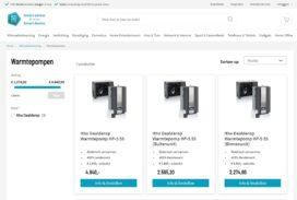 Online platform verkoopt en installeert warmtepompen direct bij consument