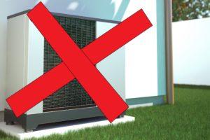 'Minister Ollongren zet lucht/water-warmtepomp buitenspel'
