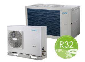 Clivet introduceert nieuwe generatie lucht/water-warmtepompen met R32