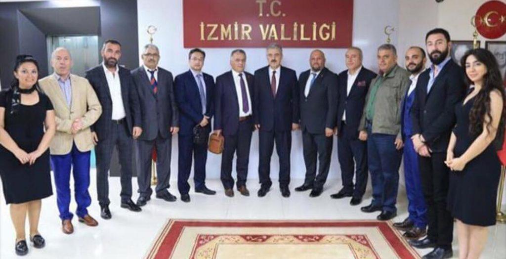 Sayın İzmir Valimize ziyaretimiz