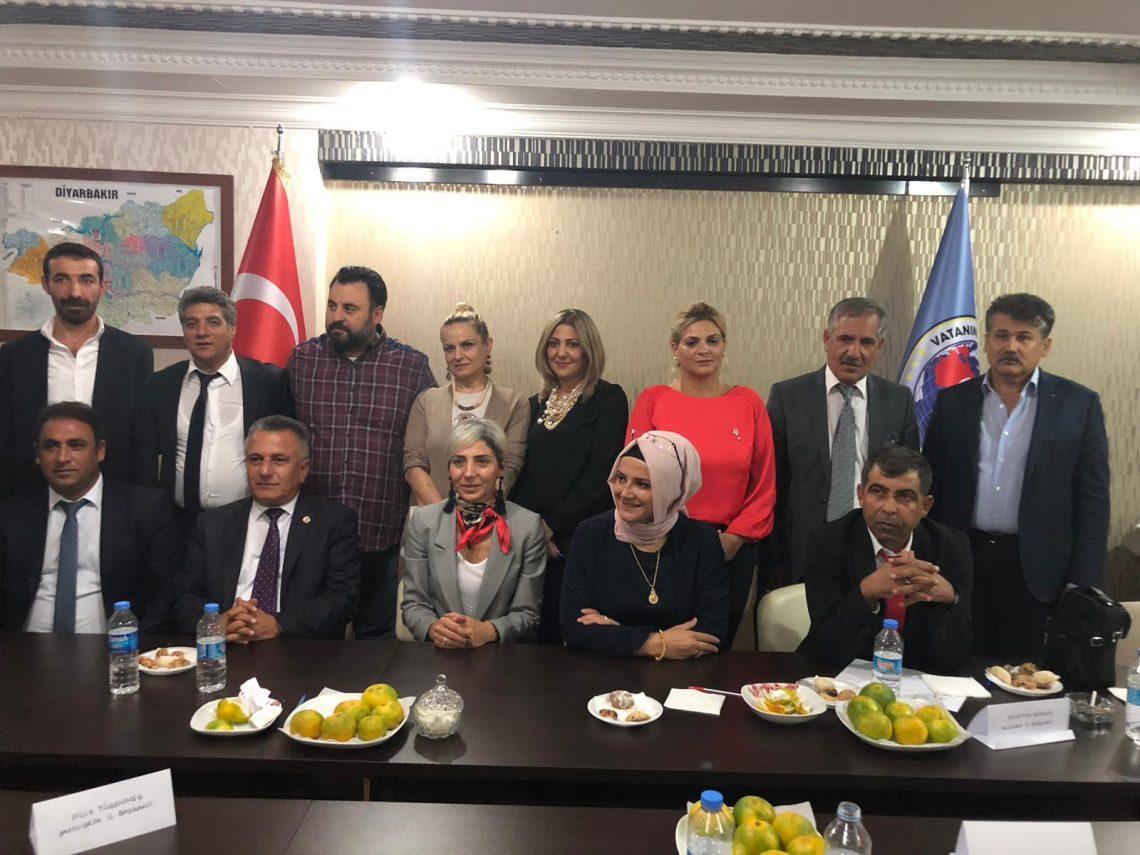 Yönetim Kurulu Toplantısını Diyarbakır'da gerçekleştirdik