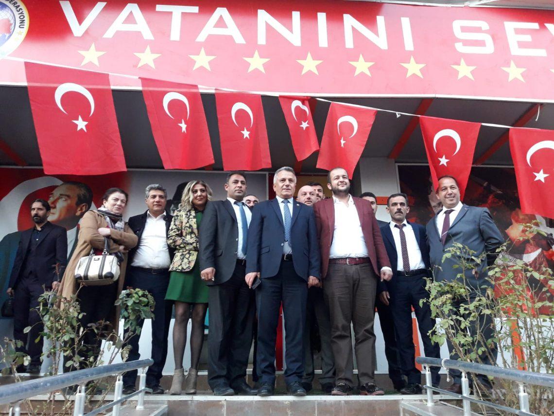 Gaziantep İl Temsilciliği açılışını gerçekleştirdik